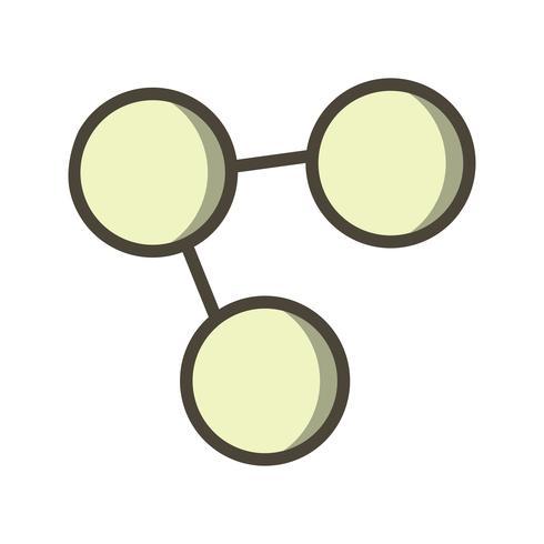 Dela ikon Vektor illustration