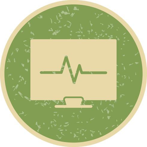 Vector ECG Icon