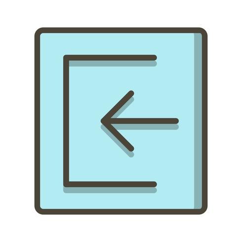 Sign In Icon Vector Illustration