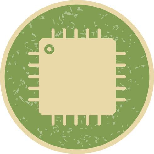 Icono de procesador de vectores