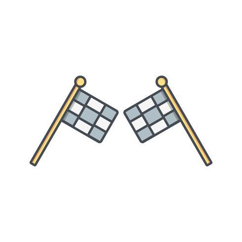 Racing pictogram vectorillustratie