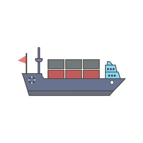 Vektor Schiffssymbol