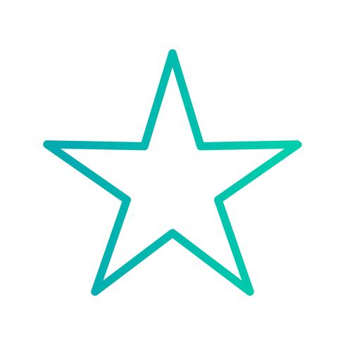Star Icon Vector Illustration