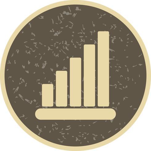 Icono de estadísticas vectoriales