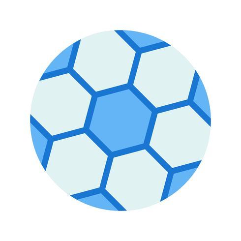 Illustration vectorielle de football icône