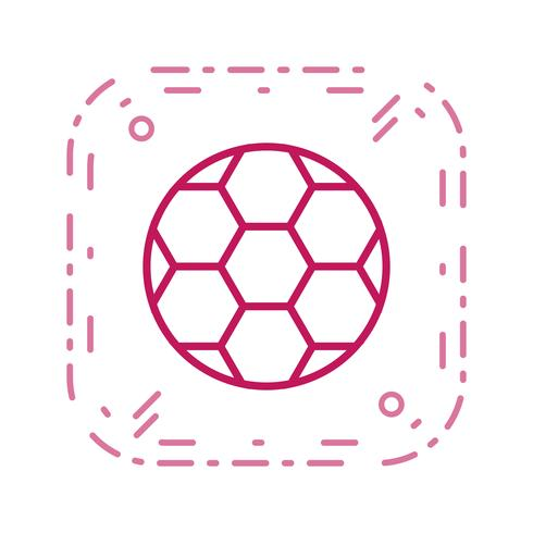 Futebol, ícone, vetorial, ilustração