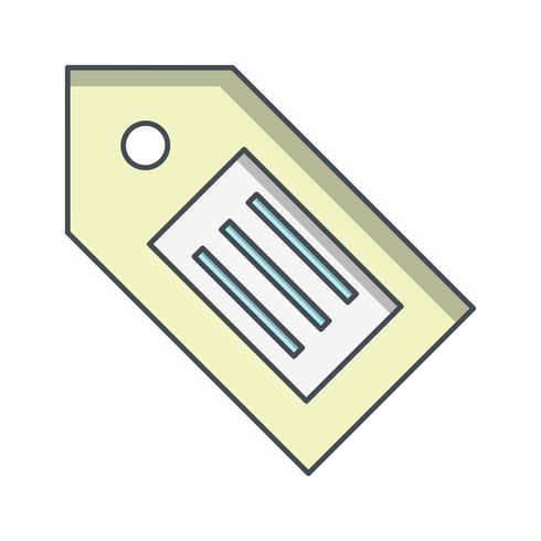 Tag Icon Vector Ilustração