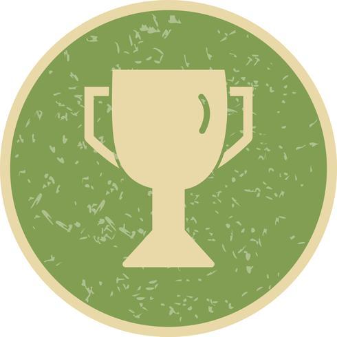 Ilustração em vetor ícone troféu
