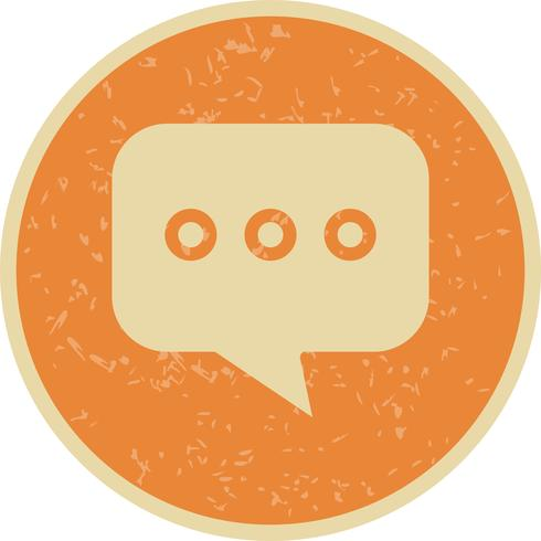Vektor-Chat-Symbol