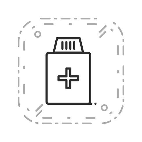 Vector Medicine Bottle Icon