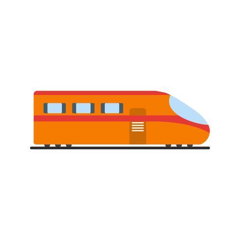 Icona del treno vettoriale
