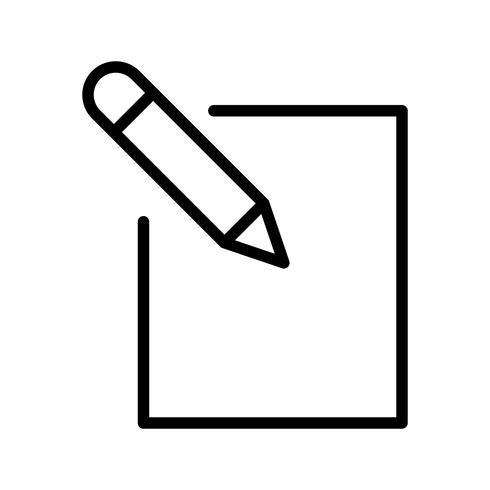 Editar, ícone, vetorial, ilustração