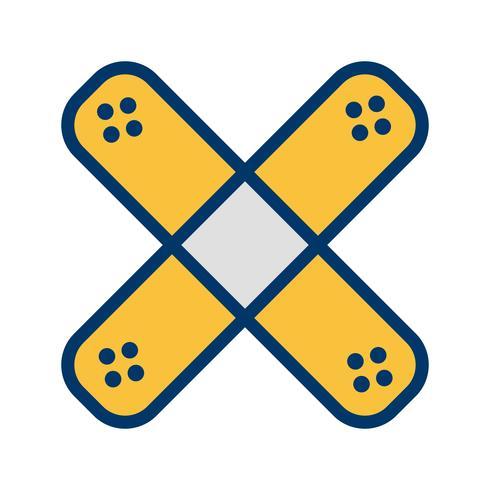 Vector Band Aid ícone