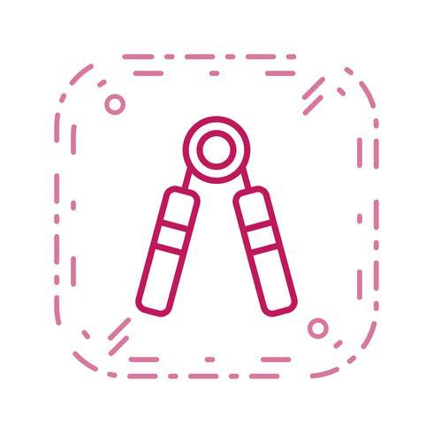 Stärke-Symbol-Vektor-Illustration