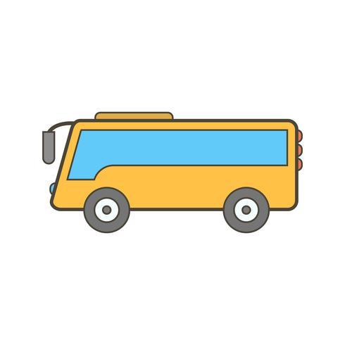 icono de bus vectorial vector