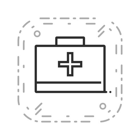 Vector First Aid Box Icon