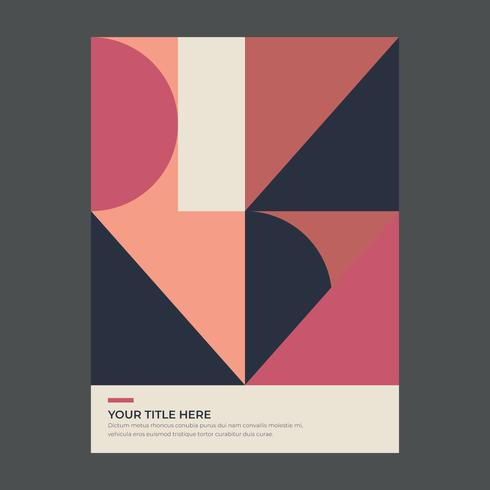 Poster geométrico
