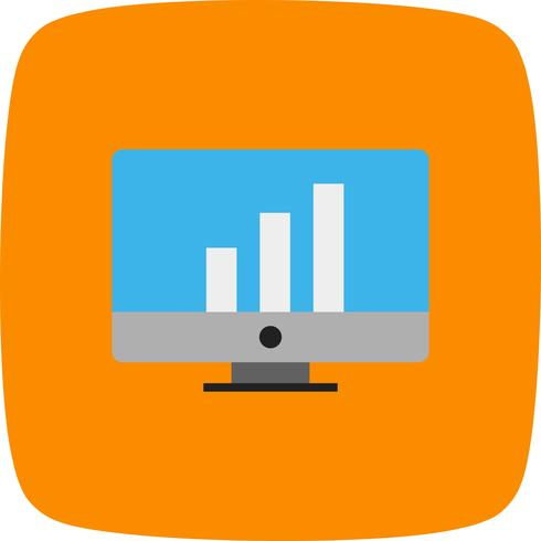 Vector icono de estadísticas