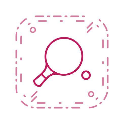 Ping Pong Icon Ilustração Vetor