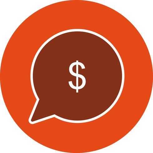 Vector Enviar ícone de dinheiro