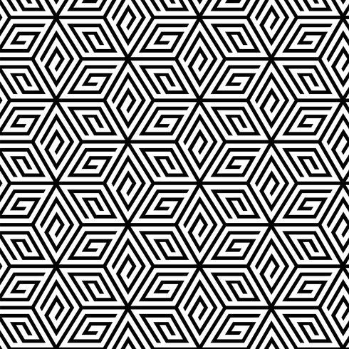 c532347c43fcf9 Abstract geometrisch naadloos patroon - Download gratis vectorkunst ...