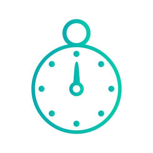 Vektor Stopwatch-ikon