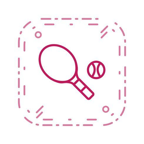 Ilustração em vetor ícone tênis