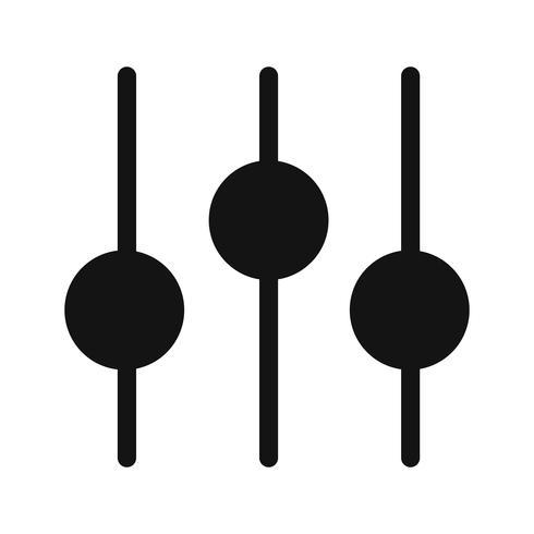 Impostazione dell'icona illustrazione vettoriale