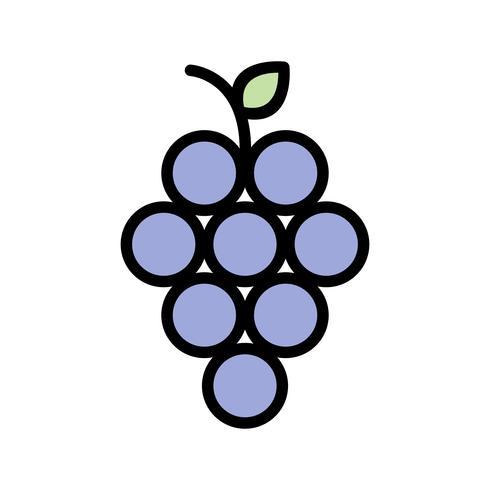 Vector Grapes Icon