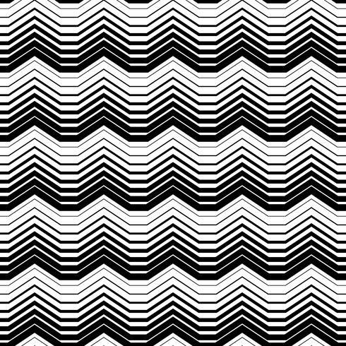 Modèle sans couture abstrait monochrome