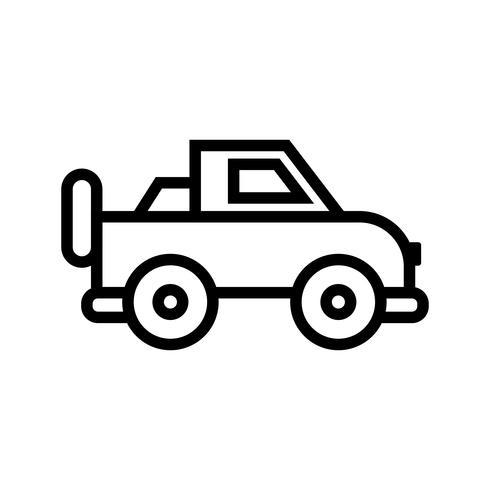 icono de vector jeep