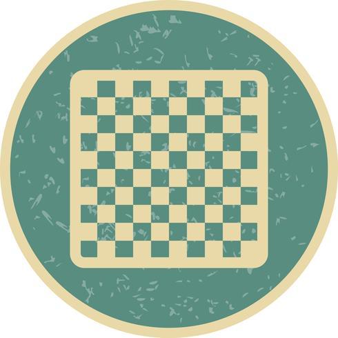 Schack Ikon Vektor Illustration