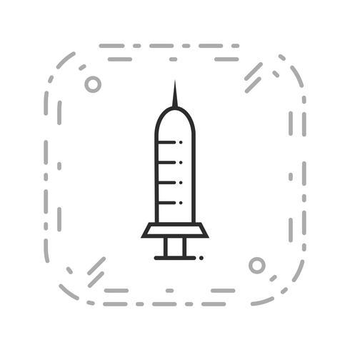Vektor-Einspritzungsikone