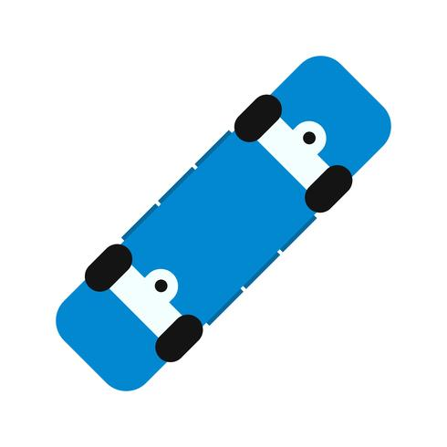 Vector Skate Board-pictogram