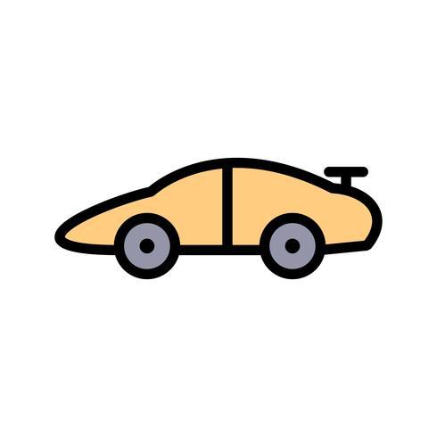 Ícone de carro esportivo de vetor