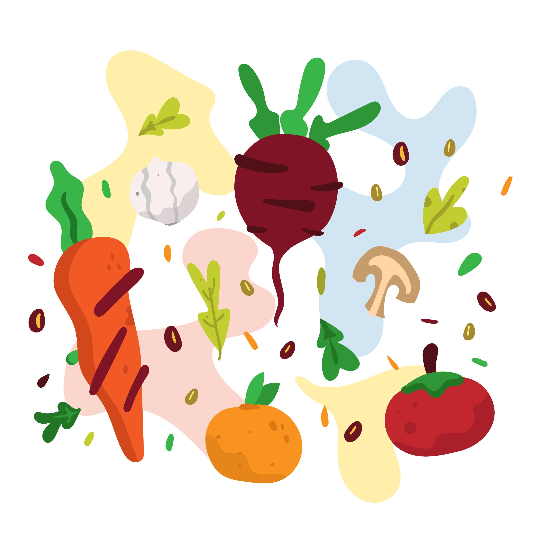Healthy Food Vector Download Free Vectors Clipart Graphics Vector Art