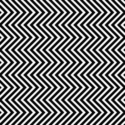 Modello senza cuciture con onde triangolari verticali