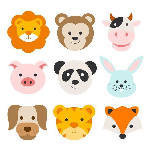 Rostos De Animais
