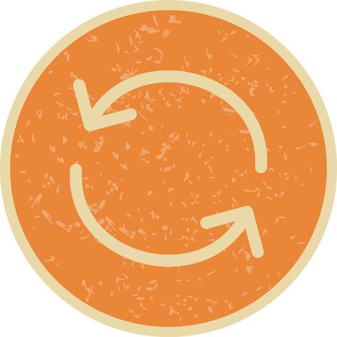 Icono de recarga ilustración vectorial