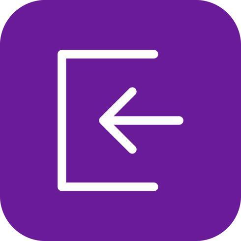 Meld u aan pictogram vectorillustratie