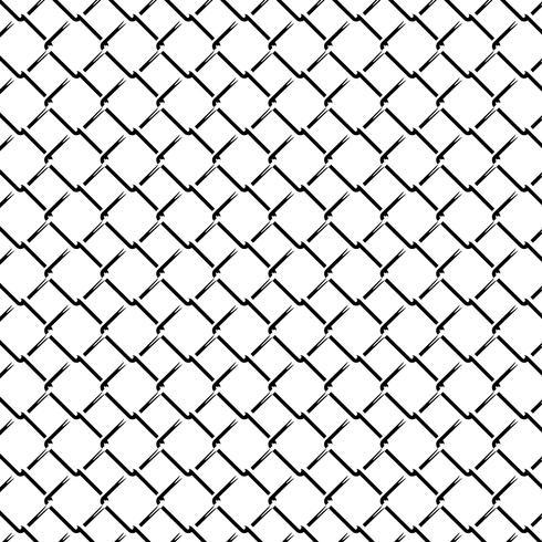 Reticolo senza giunte monocromatico di griglia del recinto