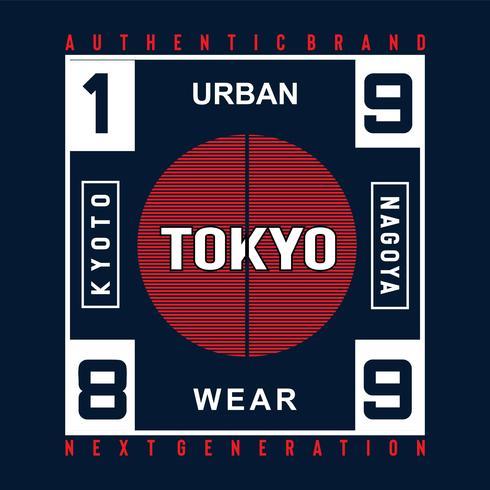 Authentische Marke Kyoto Next Generation Typografie Design