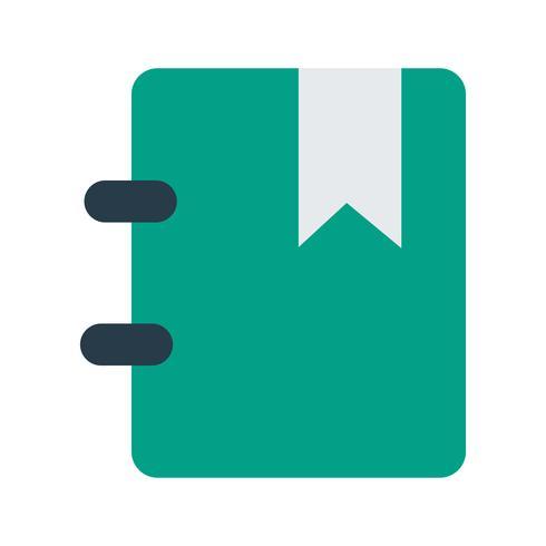 Vektor-Lesezeichen-Symbol