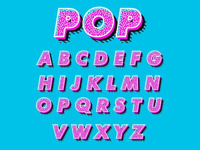 Retro font