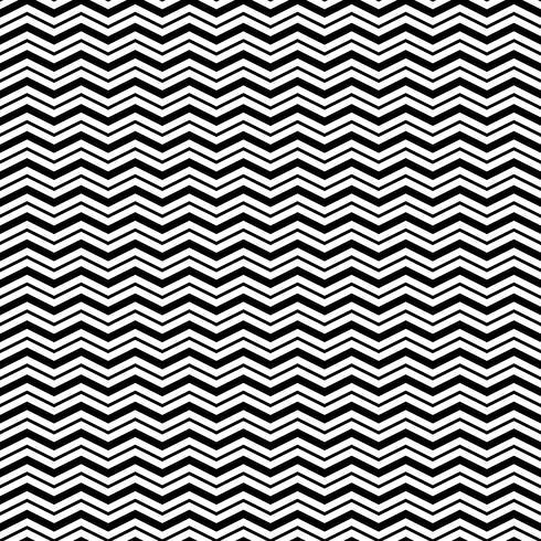 Patrón sin costuras con líneas de onda triangular
