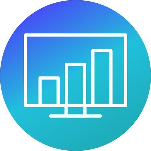 Vektorstatistik Ikon