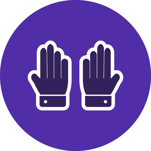 Gloves Icon Vector Illustration