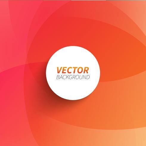 Vecteur gratuit: Abstrait orange