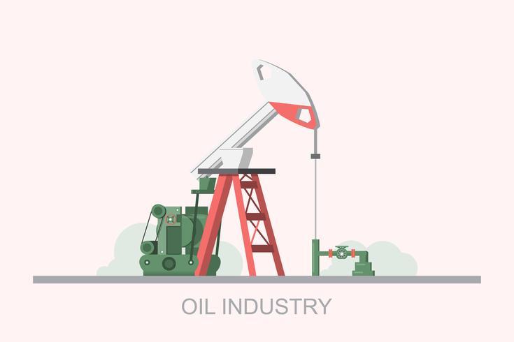 Plataforma de petróleo, combustível de gás, indústria offshore, tecnologia de perfuração