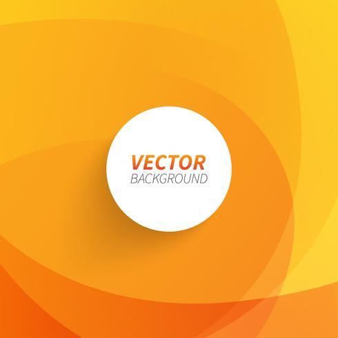 Vetor livre abstrato de fundo laranja
